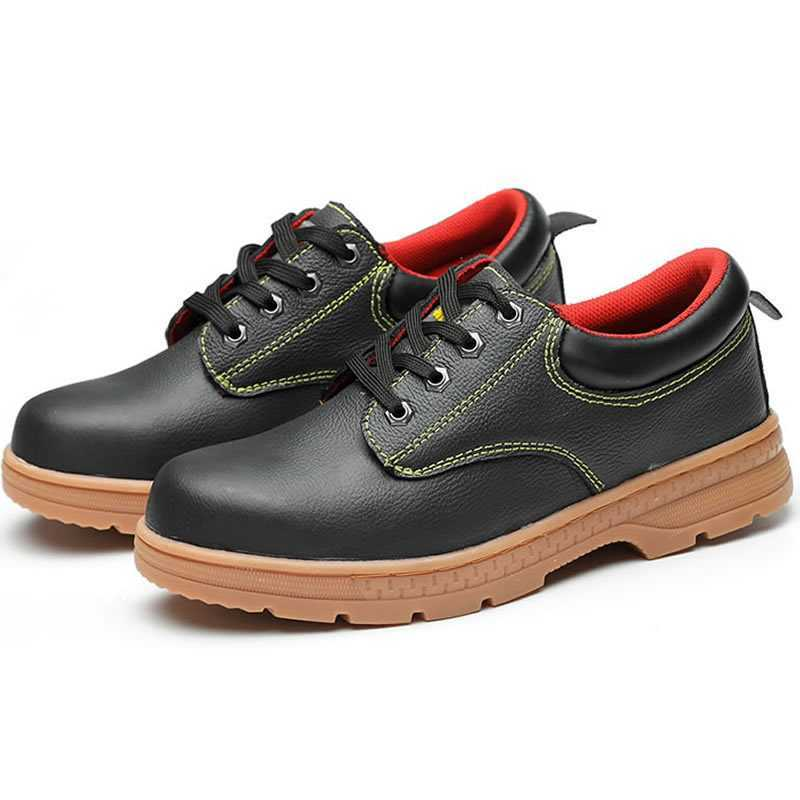 Plus Size 36-46 Men Safety Shoes Steel Toe Steel Insole Breathable Work Shoes Men High Quality Wear-resisting Safety BootsPlus Size 36-46 Men Safety Shoes Steel Toe Steel Insole Breathable Work Shoes Men High Quality Wear-resisting Safety Boots