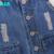 A15 azul skinny jeans rasgado para a menina 2017 nova chegada crianças calças de brim calças Menina Adolescente Da Menina Jeans Calças Macacões Idade 7 8 10 12 13