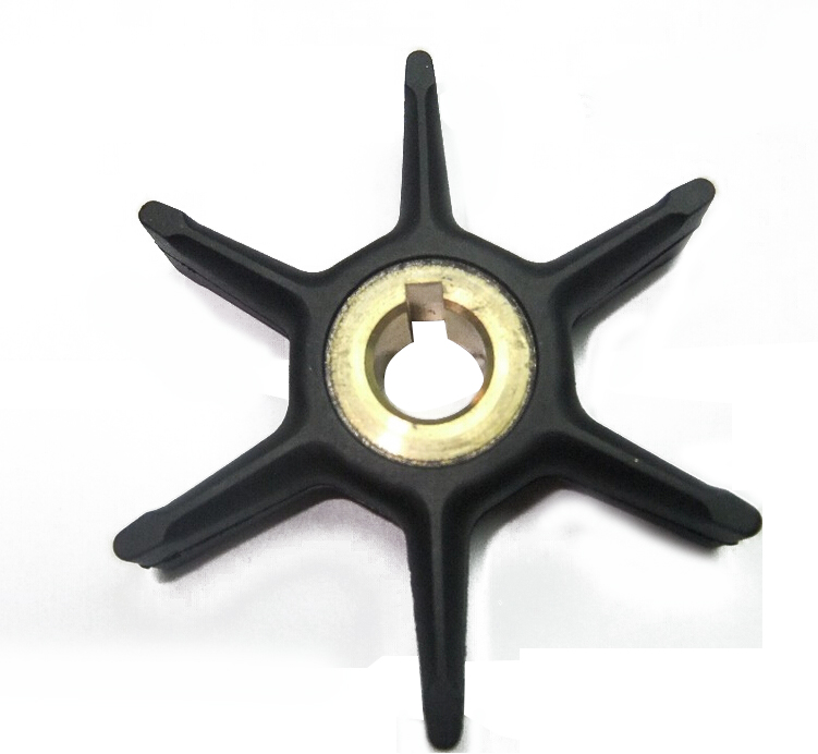 CARBOLE Water pump Impeller replace for Johnson Evinrude OMC BRP Outboard Motor 277181 / 434424 18-3001 Water pump Impelle