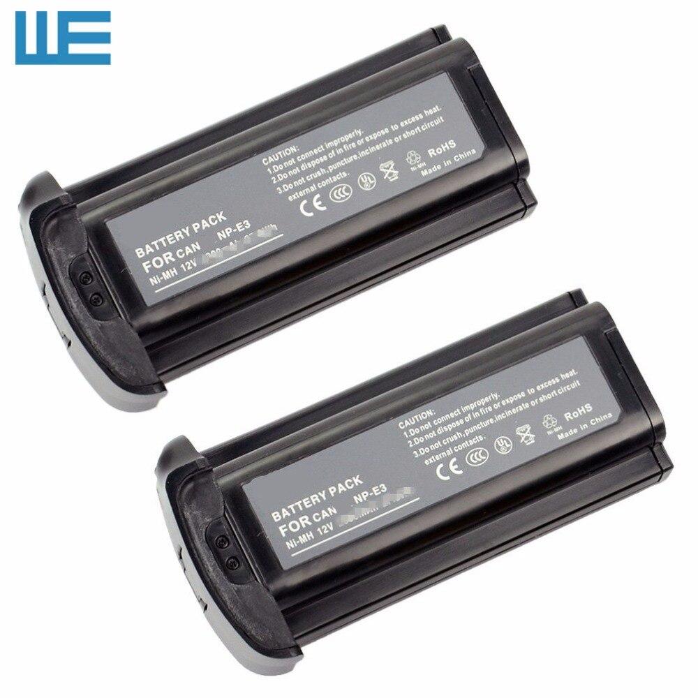 2pcs Lot NP E3 NPE3 Battery for Canon EOS 1D EOS 1Ds EOS 1D Mark II