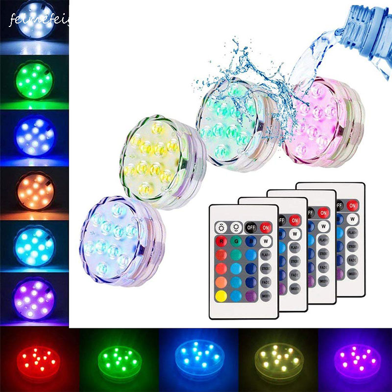 Feimefeiyou Christmas Decorations For Home Luminaria Led Light Night Lamp Wedding Decoration With Remote Control IP68 Waterproof