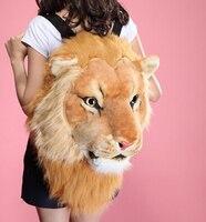 Мода головы тигра сумка рюкзак Лев рюкзак белый рюкзак голова тигра Сумки
