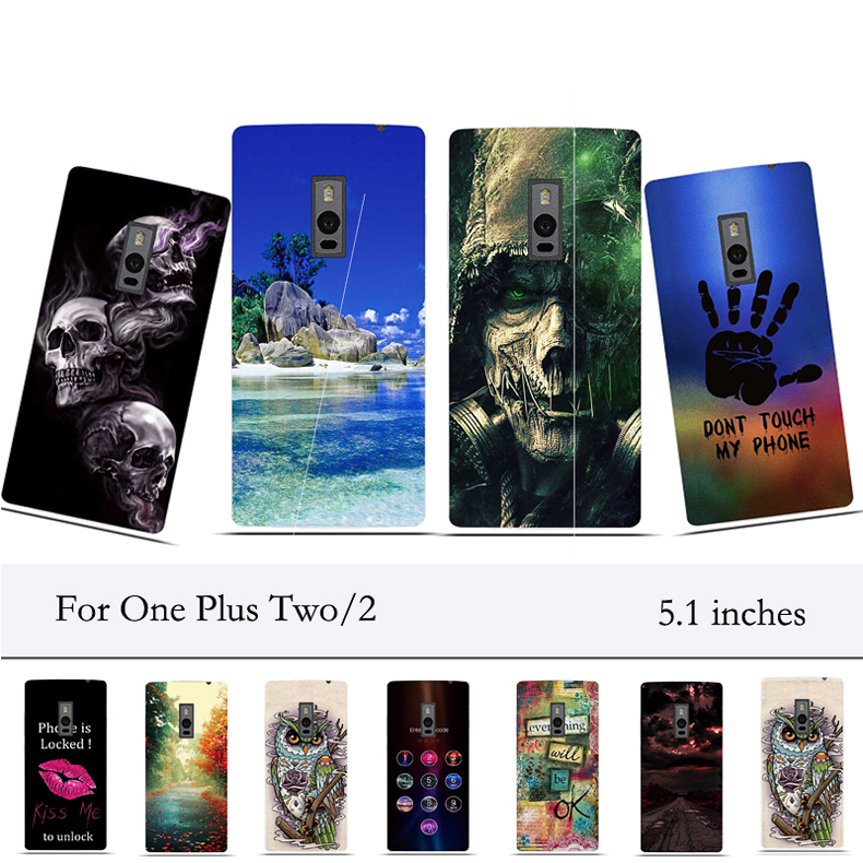 For OnePlus 2 Case Silicone Protective Back Cover Phone Case for One Plus Two Case Cover One Plus 2 Soft TPU Cover Bumper Fundas