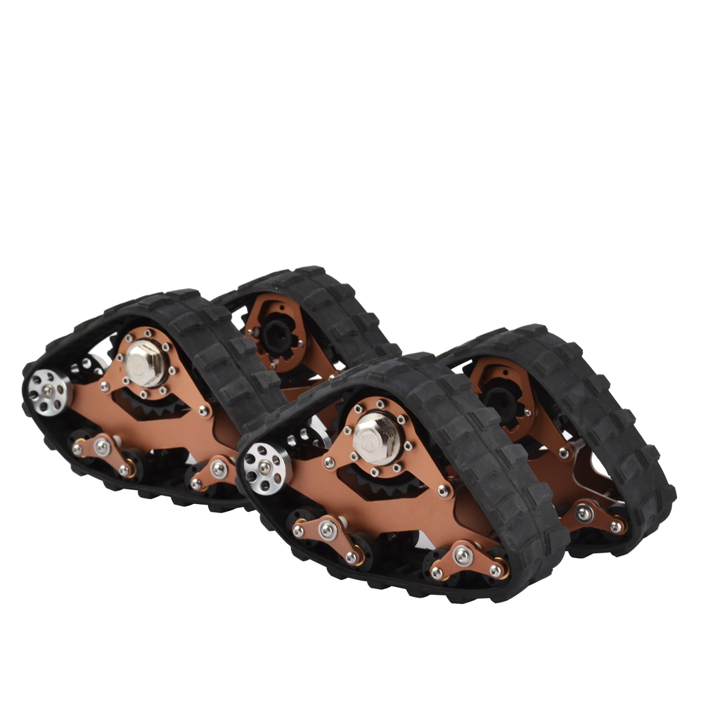 RCAIDONG RC pistes roue Sandmobile Conversion pneu de neige pour Traxxas TRX4 TRX-4 1/10 RC chenille