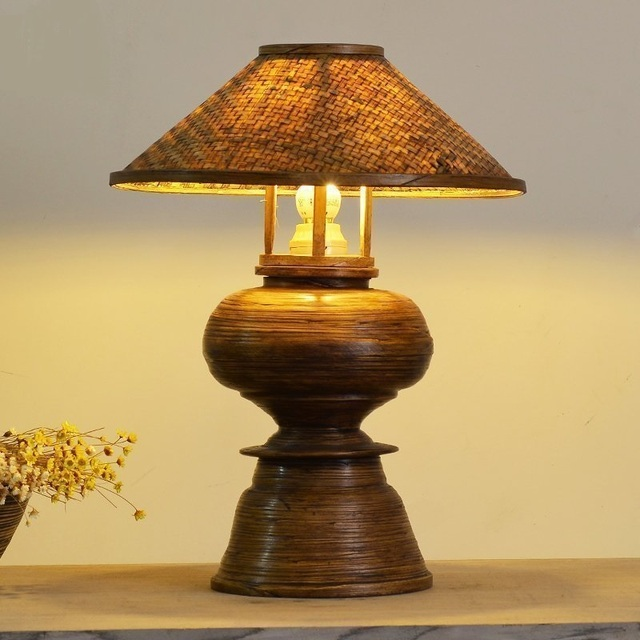 Spring bamboo table lamps manual bedroom lamp southeast exit lamp spring bamboo table lamps manual bedroom lamp southeast exit lamp thai spa designer bedside lamp lu823417 aloadofball Images