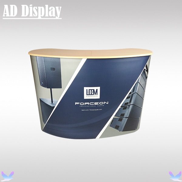 Exhibition Booth Counter : Aliexpress buy high quality curve shape pop up