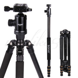 omei Z688 Aluminum Professional Tripod Monopod + Ball Head For DSLR camera Portable / camera stand