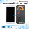 Tested Black White For Samsung Galaxy S5 MINI LCD Display G800 Screen With Touch Digitizer Assembly 1 Piece Free Shipping