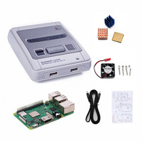 New Video Arcade Game Console Player Box For Raspberry Pi 3B 3 Model B+ For Retroflag SUPERPi Case J Kit DIY TV Game consoles