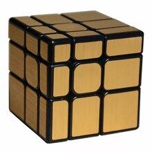 2017 New Moyu Mofangjiaoshi 3x3x3  Mirror Block 3Layers Cube Magic Cube Twist Puzzle Speed Cube Special Toys
