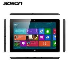 """EE.UU. Stock de Almacén de Windows 10 para Tablet PC Aoson R12-1 BOMBA de 10.1 """"Quad Core Pantalla IPS Cámaras Duales 2.0MP HDMI OTG Tableta de Windows 10"""