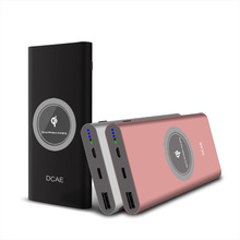 DCAE 10000mAh QI Wireless Charger Power Bank For iPhone X 8 Plus Portable External Battery Powerbank For Samsung S9 S8 Xiaomi