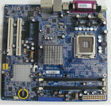 TEM100-01B Motherboard system board Socket 775 working