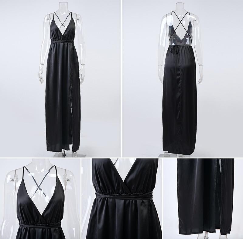 HTB1fxcJNFXXXXcgaXXXq6xXFXXXh - Off Shoulder Sexy Deep V Neck Beach Style Women Dress Strap Backless Maxi Long Evening Party Dresses JKP028