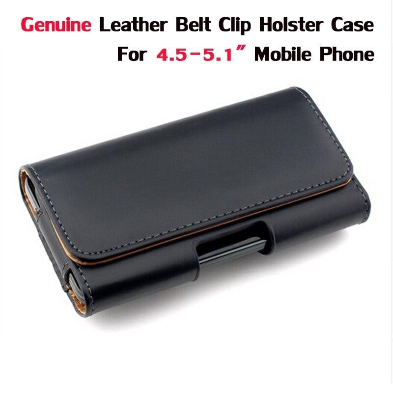 Пояса из натуральной кожи ремень клип кобура Чехол для 4.5-5.1 &#8220;Мобильный Телефонные чехлы крышка для iPhone 6 Samsung <font><b>S5</b></font> S6 Grand prime J5 Moto G