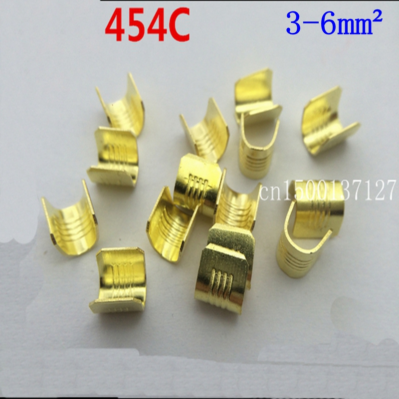 us $5 99 dj454c 100pcs lot u type car wiring harness terminal connectors copper joint terminals for 3 6mm2 cable etc in terminals from home Wiring Harness Tool