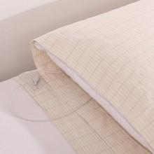 PILLOW CASE FREE DHL EARTHING  Wholesale Conductive grounded EARTHING PILLOW CASE 5pcs per lot