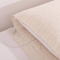 Conductive Grounded EARTHING PILLOW CASE Silver Antistatic Fabric For Earthing Antimicrobial Fabric Earthing Sheet