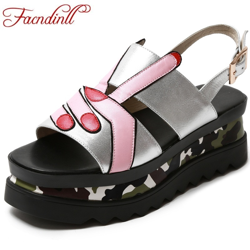 FACNDINLL new women summer sandals 2018 ladies summer wedges high heel fashion casual leather sandals platform date party shoes facndinll new women summer sandals 2018 ladies summer wedges high heel fashion casual leather sandals platform date party shoes