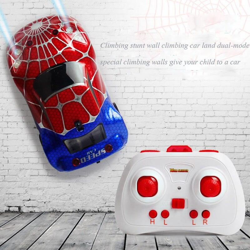 doub k remote control rc car wall climber zero gravity racing stable stunt racing climbing car electric children free shipping