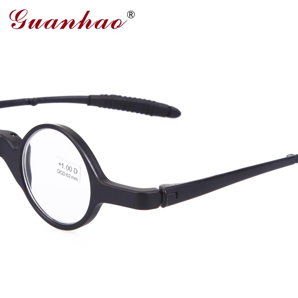 Guanhao Vintage Lesebrille Faltbare Männer Frauen TR90 Rahmen - Bekleidungszubehör - Foto 5