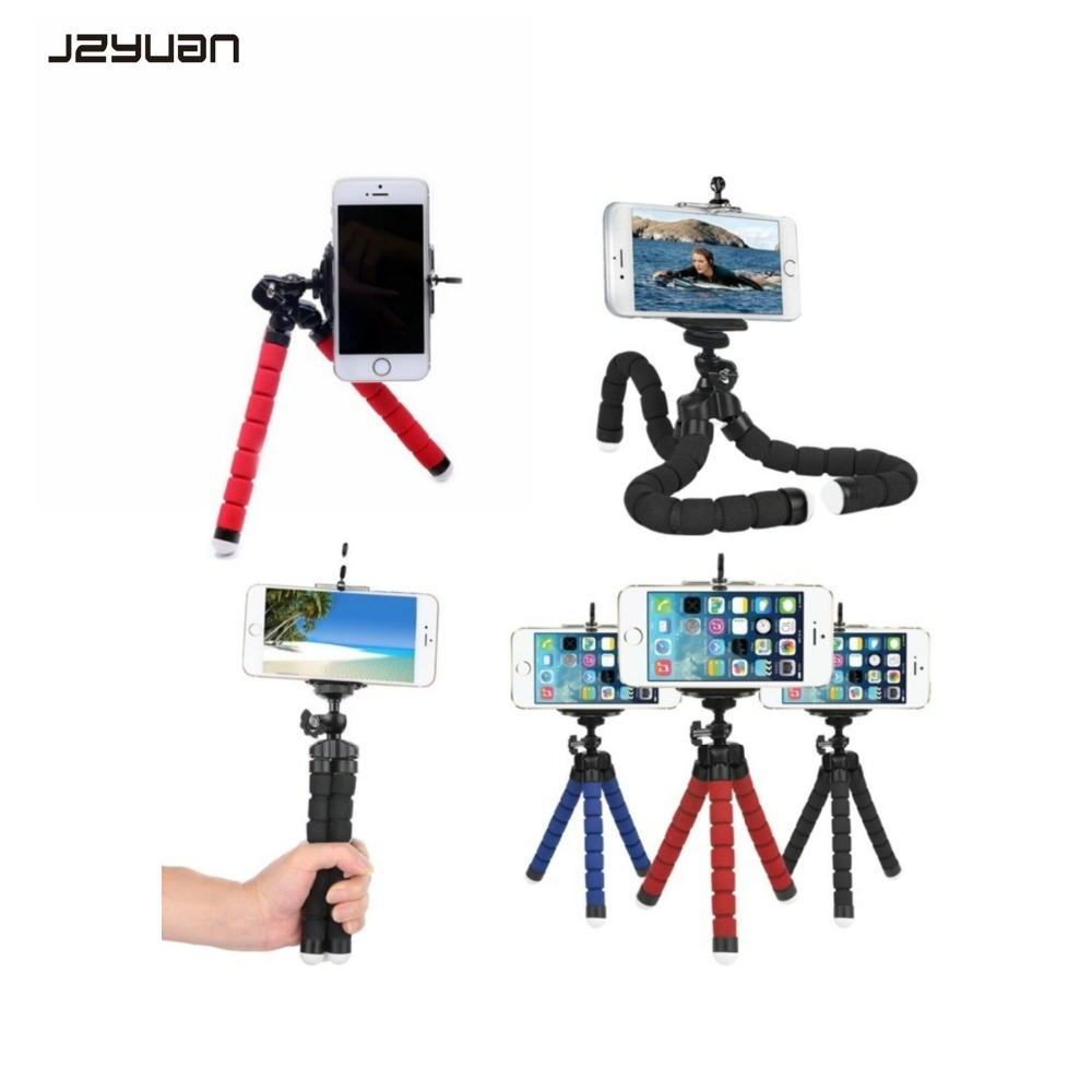 Back To Search Resultsconsumer Electronics Good Jzyuan Universal Mini Flexible Tripod Phone Stand Clip Holder Flexible Sponge Bracket For Iphone 8 Xs Android Selfie Tripod