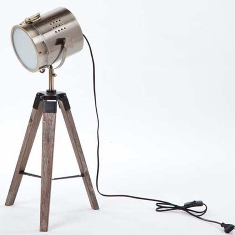 Horsten european vintage retro wood tripod table lamp spotlight horsten european vintage retro wood tripod table lamp spotlight lamps photography desk lights stand creative living room 220v in table lamps from lights mozeypictures Gallery