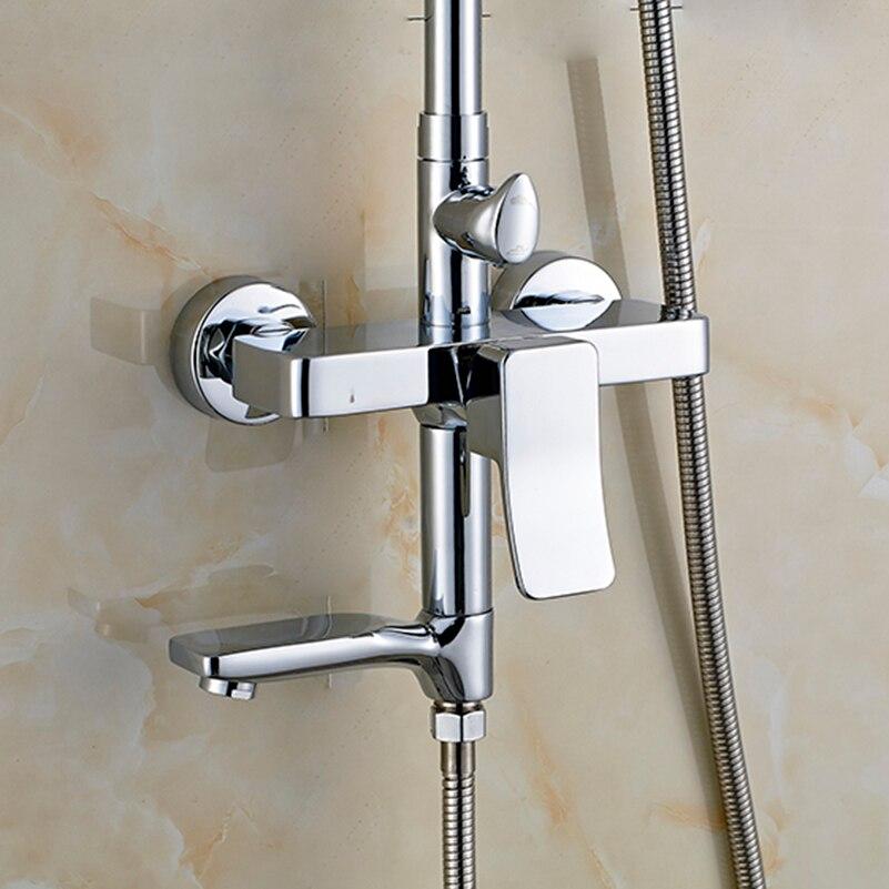 FLG badezimmer dusche wasserhahn set badewanne armaturen dusche ...