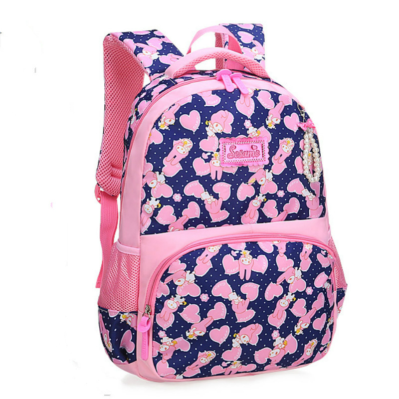 Backpacks Kids Children School backpack princess School Bags Girls Printing Backpack Book Bag Primary Satchel schoolbags mochila