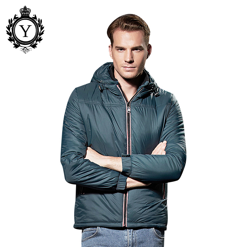 COUTUDI Solid High Quality Winter Jacket Mens 2017 Fashion Down Coats For Male Hooded Parkas Coat Plus Size Casual Men Clothing