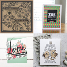 Color pattern transparent silicone stamp DIY scrapbook / album decoration card making seal supplies