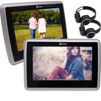 Eincar автомобильный dvd плеер 10,1 подголовник 1080 P видео широкий обзор емкостный сенсорный экран авто монитор Поддержка USB SD FM IR, включает Wi