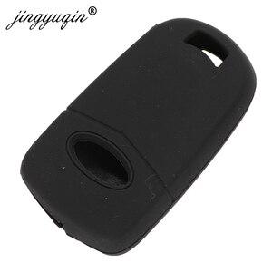 Image 4 - Jingyuqin 3 кнопки дистанционного управления, брелок силиконовый чехол для Ford Focus Mondeo Fiesta модифицированный чехол для ключа