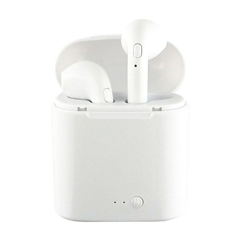 WPAIER I7S TWS Bluetooth Hoofdtelefoon Draagbare Draadloze Koptelefoon Met Opladen Box mini bluetooth headsets Universele type TWS