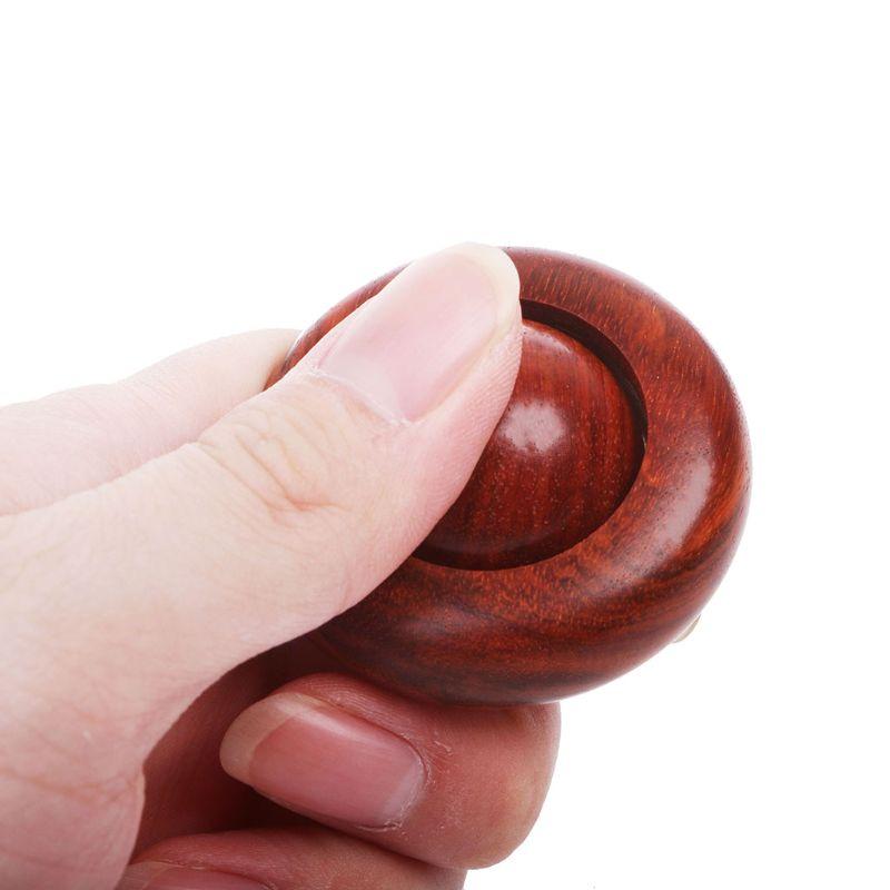 Novelty Wood Fidget Lucky Bead Fidget Roller Hand Massage Fidget Toy Stress Relief EDC Toy