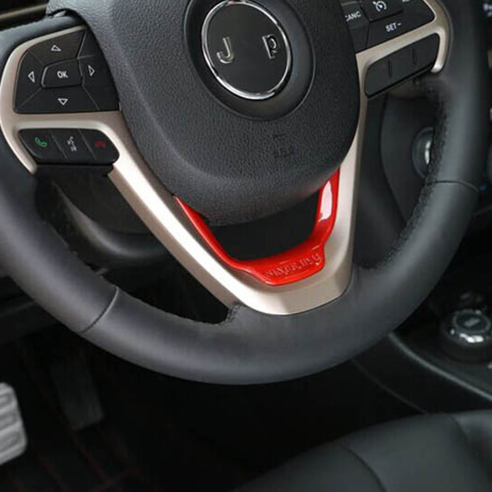 Online buy wholesale red wheel trim from china red wheel - Jeep grand cherokee interior parts ...