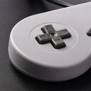 Image 4 - Controle usb para jogos snes, joystick clássico usb para raspberry pi, 2 peças