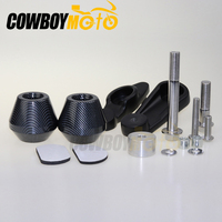 Freeshipping motorcycle parts No Cut Frame Slider For Yamaha 2009 2010 2011 2012 YZF R1 YZFR1 YZF R1 Carbon