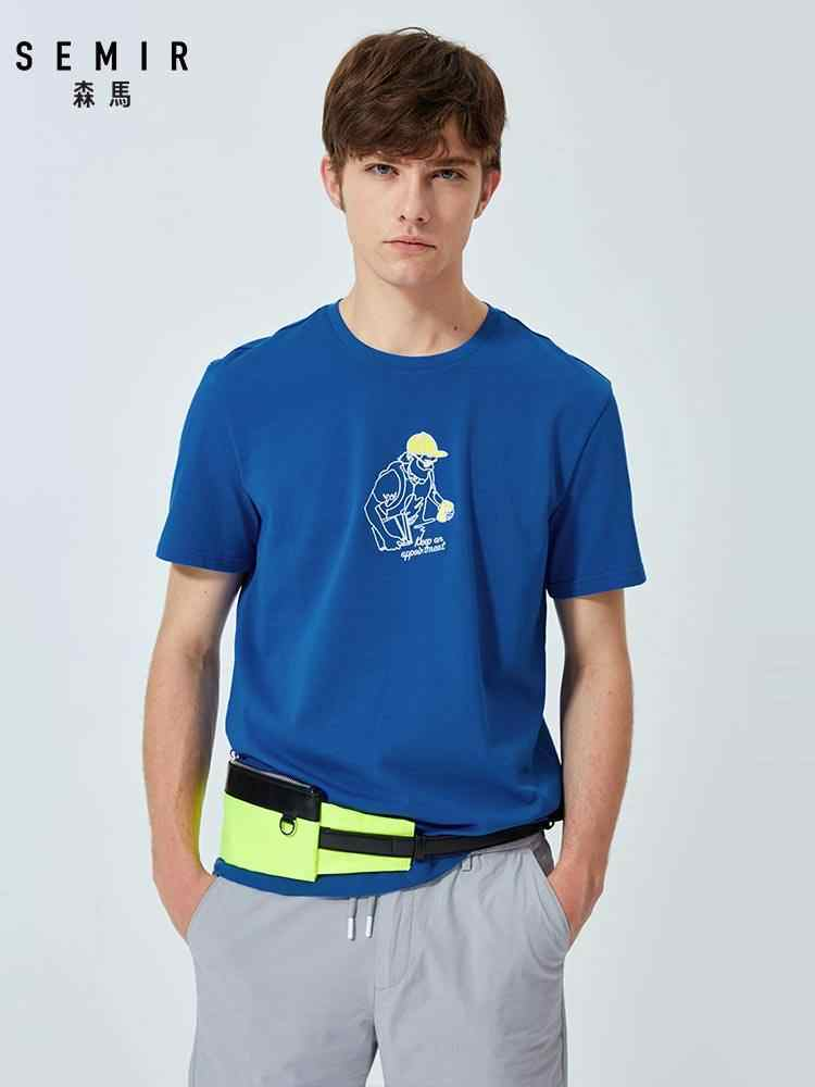 SEMIR  t shirt men hop t-shirt funny hip streetwear tee top for male clothing men tshirt harajuku 2019