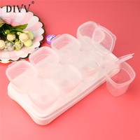 Complementary Feeding Food Container New Kids Mini Storage Boxes Set Plastic Kitchen Container Small Food Sauce