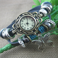 Cindiry fashion unique women casual quartz wrist watches ethnic style butterfly silver retro bracelet band women.jpg 200x200