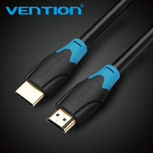 Vention HDMI 2.0 Cable Gold-plated 4K*2K 60Hz UHD HDMI Cable 1m/2m/3m/5m/8m/10m or HD TV LCD Laptop for PS3 Projector Computer