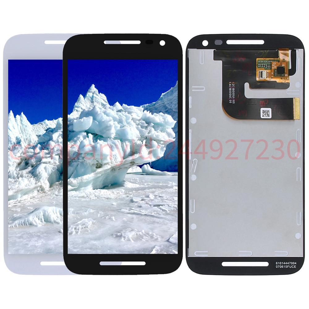 Cep telefonları ve Telekomünikasyon Ürünleri'ten Cep Telefonu LCD'leri'de 5.0 ''Için Motorola Moto G3 G 3rd Gen XT1541 XT1543 XT1544 XT1540 XT1550 Ekran lcd ekran Digitizer Dokunmatik Ekranlar Onarım parçaları title=