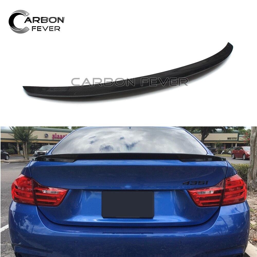 For BMW 4 series F32 Coupe 2014+ 420i 428i 435i 420d 425d 430d 435d Carbon Fiber Rear Trunk Spoiler Wing For BMW 4 series F32 Coupe 2014+ 420i 428i 435i 420d 425d 430d 435d Carbon Fiber Rear Trunk Spoiler Wing