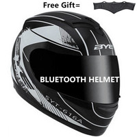 Bluetooth Motorcycle helmets motor motorcycle hat Full Face helmet with Transparent lens safety helmet DOT SDU for USA
