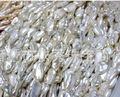 Special-en forma de perlas de agua dulce naturales partículas grandes de luz blanca natural suelta perlas 12-13mm 40 cm 1str