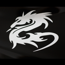 car decals dragon 13.5cm x10.5cm  for motorcycle ebike reflective waterproof vinyl stickers
