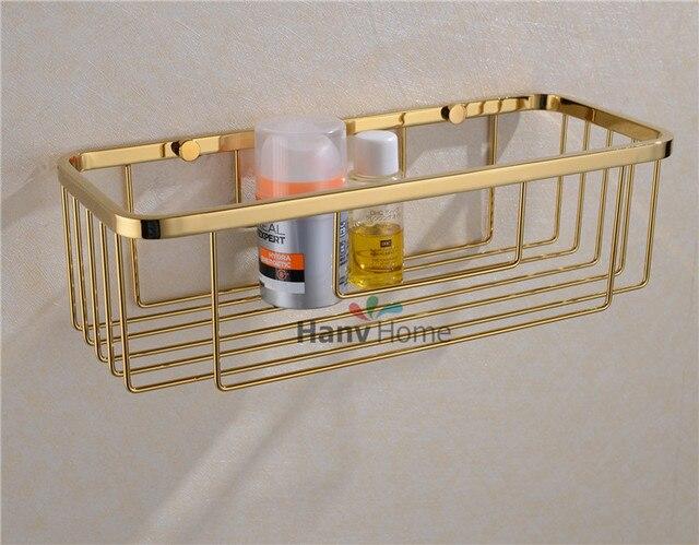Bad accessoires Edelstahl Gold Draht regal Halterung Regal ...