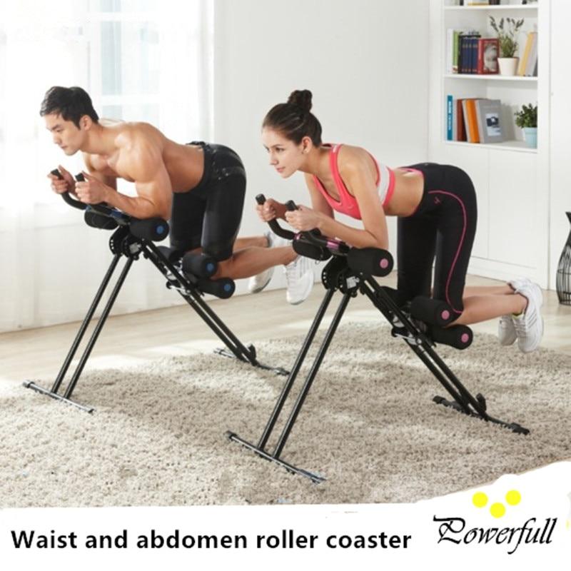 Fitness equipment Waist and abdomen exercise training machine AB roller coaster Body shaper body building equipment gym equipment fitness equipment outdoor exercise equipment
