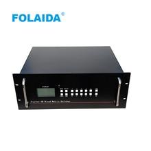 Folaida 8x16 HDMI матричный коммутатор 1080 P EDID 4U HD аудио-видео из металла с дистанционным управлением матричный коммутатор
